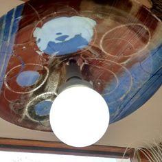 Lampara 2 vidrios de 2 mm cada uno Light Bulb, Lighting, Home Decor, Glass, Bulb Lights, Homemade Home Decor, Lights, Bulb, Lightning