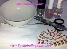Spellbinding Nails: Tutorial - How to apply Water Slide Nail Decals