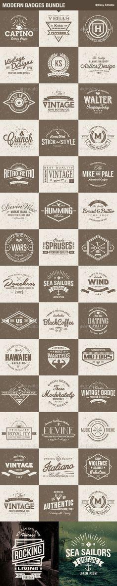 Modern Badges Big Bundle #design Download: http://graphicriver.net/item/modern-badges-big-bundle/11511441?ref=ksioks