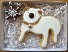 sweetdanib.com  custom pug dog cookie