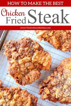 How to make perfect chicken fried steak. This recipe features breaded cube steaks, fried and topped with an easy homemade country gravy. Steak Sandwich Recipes, Cube Steak Recipes, Beer Recipes, Cooking Recipes, Chicken Fried Steak Sandwich Recipe, Cuban Recipes, Yummy Recipes, Chicken Recipes, Leche Flan