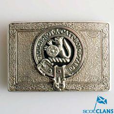 Clan Crest Belt Buck