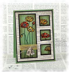 pleasant poppies by sandi maciver at www.stampingwithsandi.com