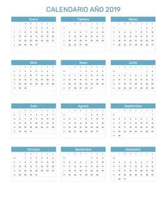 23 best calendario con feriados año 2019 images on pinterest in 2018