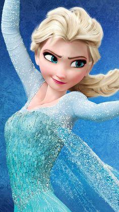 Elsa - Frozen I wish she was a real person. She's so beautiful. Princesa Disney Frozen, Disney Princess Frozen, Frozen Movie, Frozen Wallpaper, Disney Wallpaper, Disney Princess Pictures, Frozen Pictures, Disney Queens, Disney Wedding Dresses