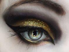 Gold Metallic Smokey Eye - Look/Inspiration/Tutorial at Beautylish