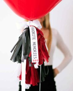 """By Kristi MurphyValentine's Day is a day to make those we love feel special. Here is a fun way to do just that! We call it a """"Favorite Memories"""" Pinata. Fill a heart-shaped balloon with favorite memories with your honey or loved one. When you are ready for the reveal, pop the balloon and share those special moments again. You and your valentine can split the memory-writing, or write them yourself and give them as a gift. Happy Valentine's Day!"""