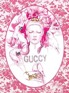 Ideas Fashion Ilustration Gucci For 2019 Fashion Collage, Fashion Art, Fashion Ideas, Dorm Posters, Diy Fashion Projects, Fashion Magazine Cover, Fashion Wallpaper, Gucci Fashion, Up Girl