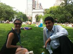MT @cdoten: Best session of ‪#PdF12‬ - lunch on the lawn with @BeckLindsay @jdeepford @hillaryeason & a dixieland band