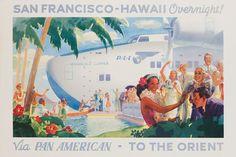 Vintage Airline Posters panam3