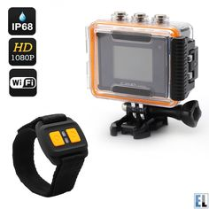 You know those gadgets that do what you need them to without the frighting price tag? This is one of those. The 1080p full HD sports action camera is an ideal entry level feature packed sports action camera.