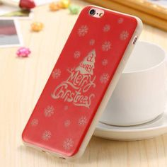For iPhone 6 7 Christmas Luminous Case Soft TPU Silicone Coque for iPhone 7 6 Plus Luminous Case Slim Protective Cover Bag Iphone 6, Iphone Cases, Phone Cover, 6s Plus, Christmas, Pattern, Ebay, Xmas, Patterns