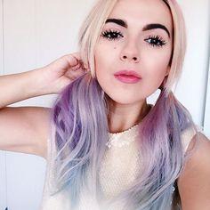 Rainbow hair, blogger Andrea María!