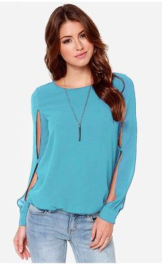 Summer Woman New Fashion Solid Casual Slash neck Chiffon Blouses Lady Girl Pink Blue 4 color S-3XL Shirts