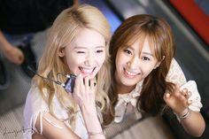 Girls' Generation Yoona & Yuri