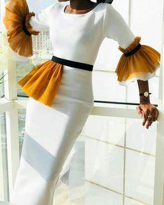 f ø l l ø w ↠ Sylvia_em 🖤 style African Print Fashion, African Fashion Dresses, African Dress, Hijab Fashion, Fashion Outfits, Fashion Week, Street Fashion, Classy Dress, Classy Outfits