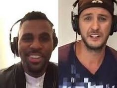 Slower version. Luke Bryan and Jason Derulo Do Karaoke Together  and Yes, It's Awesome
