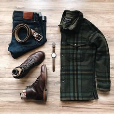 Awesome Jac Shirt from @filson1897 and great coordinating from @lahmansbeard Follow @runnineverlong on Instagram for more inspiration #MensFashion #MensFashionShirts
