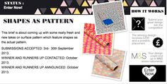 #Win £200 & a placement with @Tigerprint as Pattern #Graphic #Design #Competition - Bf. Sept.30 – Conditions Apply - Modeconnect.com for Fashion Students Worldwide