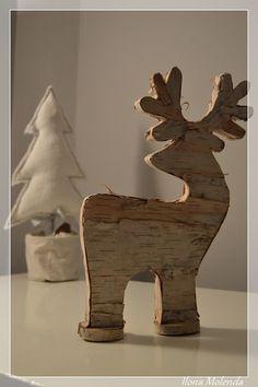 renifer, Boże Narodzenie, dekoracja, DIY