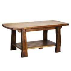 """Ten Thousand Villages - Fair Trade Salvaged Wood Coffee Table from Tropical Salvage (http://tropicalsalvage.com, www.facebook.com/tropicalsalvage) - made from """"entombed wood"""" salvaged from disassembled houses, old boats and bridges that have been buried in volcanic mud in the region of Jepara, Indonesia."""