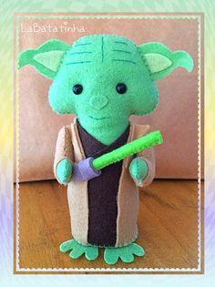 Mestre Yoda feltro