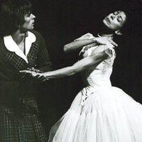 Rudolf Noureev dansant La Sylphide - 1963 - avec Margot Fonteyn - Photo : Frederika Davis