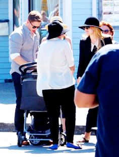 Once Upon a Time Set Pictures 16/07/2014 feat. Josh Dallas, Jennifer Morrison, Colin O'Donoghue & Ginnifer Goodwin