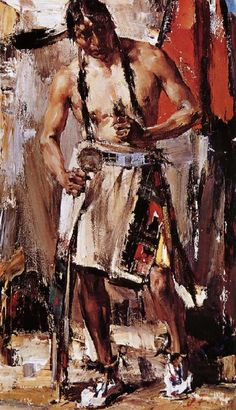 Nikolay Fechin Player oil painting picture