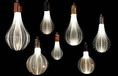 """THE COSMIC LIGHT OF NAP LASER ETCHED URI LED LIGHT BULBS"""