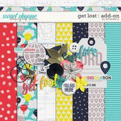 Quality DigiScrap Freebies: Get Lost mini kit freebie from Amanda Yi