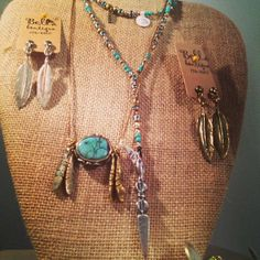 Vanessa Mooney Jewelry available at Bella Boutique in Springfield,IL