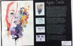 Beaumont School: GCSE Artist research