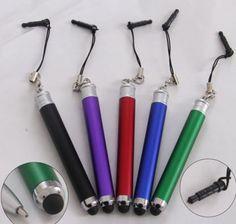 iphone cellphone dust plug stylus pen Item no : CN0942