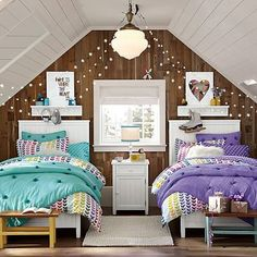 Girls room on pinterest girl rooms sisters and shared for Gay bedroom ideas