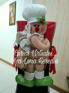 Christmas Stockings, Christmas Wreaths, Ginger Bread, Holiday Decor, Crochet, Ideas, Home Decor, Crafts, Xmas