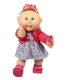 Take a look at this 14.5'' Trendy Girl Cabbage Patch Doll today!
