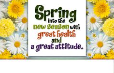 #Spring is in the air, and today it officially begins. Have a #GreatSeason.