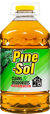 Original Pine-Sol<sup>®</sup>  //  grease on clothes.  //