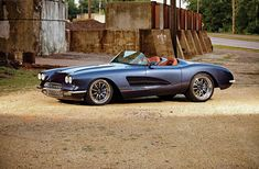 This 1959 Chevrolet Corvette is sure one of a kind. Take a look at the spec sheet and the customized upgrades that are in plain sight. 1958 Corvette, Chevrolet Corvette, Classic Corvette, Convertible, Chevy Muscle Cars, American Muscle Cars, Hot Cars, Custom Cars, Vintage Cars