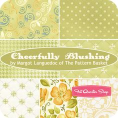 Cheerfully Blushing Fat Quarter Bundle Margot Languedoc for Henry Glass Fabrics - Fat Quarter Shop