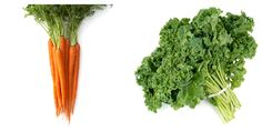 """""""Mean Green Colon Cleanser"""": (Colon cancer prevention, blood pressure reduction, boosts digestion)    1 carrot  1 stalk celery  1/2 cucumber  1/4 thumb ginger  1 cup kale  1/2 lemon"""