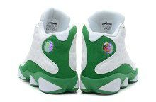 Authentic Air Jordan 13 Retro Ray Allen Three-Point Record White Clover for Sale_01