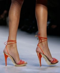 Though I'm not sure where I would wear the orange, these are cute.