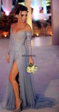split prom dress