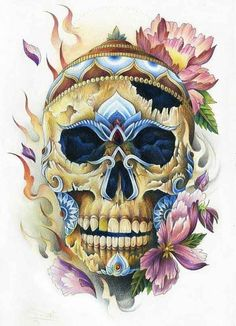 All About Art Tattoo Studio Rangiora. Quality work by Professional Artist. Skull Tattoos, Cool Tattoos, Tribal Tattoos, Tattoo Studio, Tattoo Caveira, Tibetan Tattoo, Totenkopf Tattoos, Candy Skulls, Sugar Skulls