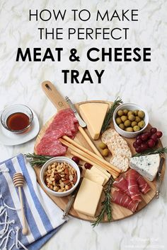 A simple guide on how to make the perfect meat & cheese tray for your next dinner party.