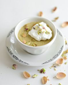 Homemade Pistachio Pudding by Erica Lea, wow, Pistachio, very interesting and supposedly amazing!
