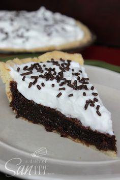 Rich Fudge Pie - 6 S