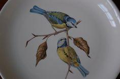 Set of 6 Villeroy Boch Bird Plates by CobblestonesVintage on Etsy